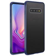 Frost Semi Transparent Hybrid Case for Samsung Galaxy S10 - Blue
