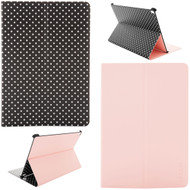 *Sale* Reversible Smart Folio Case for iPad Air 3 / iPad Pro 10.5 inch - Black Polka Dots Pink