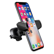 U-Grip Swivel Car Air Vent Phone Mount Holder - Black
