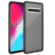 Frost Semi Transparent Hybrid Case for Samsung Galaxy S10 5G - Black