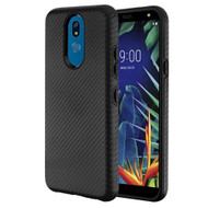 Carbon Fiber Hybrid Case for LG K40 - Black