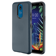 Carbon Fiber Hybrid Case for LG K40 - Slate Blue