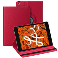 360 Degree Smart Rotating Leather Hybrid Case for iPad Mini 5 (5th Generation) / iPad Mini 4 - Red