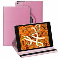 360 Degree Smart Rotating Leather Hybrid Case for iPad Mini 5 (5th Generation) / iPad Mini 4 - Pink