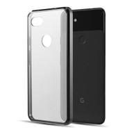 *Sale* Polymer Transparent Hybrid Case for Google Pixel 3a XL - Black