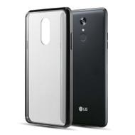 *Sale* Polymer Transparent Hybrid Case for LG Stylo 5 - Black