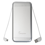 Ultra Fast Charging Portable Power Bank Battery Pack 15000mAh - Silver