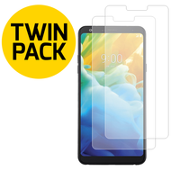 *SALE* HD Premium 2.5D Round Edge Tempered Glass Screen Protector for LG Stylo 5 - Twin Pack