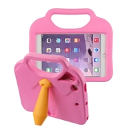 *Sale* Kids Friendly Drop Resistant Case with Handle and Stand for iPad Mini - Tie Hot Pink