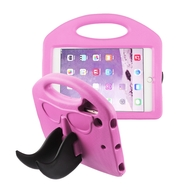 *Sale* Mustache Kids Friendly Drop Resistant Case with Handle and Stand for iPad Mini - Hot Pink