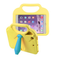 Kids Friendly Drop Resistant Case with Handle and Stand for iPad Mini - Tie Yellow