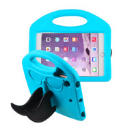 Mustache Kids Friendly Drop Resistant Case with Handle and Stand for iPad Mini - Blue