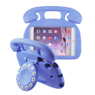 Telephone Kids Friendly Drop Resistant Case with Handle and Stand for iPad Mini - Purple