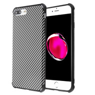 Covert Slim Armor Case for iPhone 8 Plus / 7 Plus / 6S Plus / 6 Plus - Carbon Fiber Black