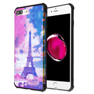 Covert Slim Armor Case for iPhone 8 Plus / 7 Plus / 6S Plus / 6 Plus - Hologram Eiffel Tower