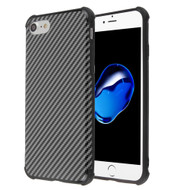 Covert Slim Armor Case for iPhone 8 / 7 / 6S / 6 - Carbon Fiber Black