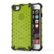 Honeycomb Transparent Case for iPhone 8 / 7 - Green