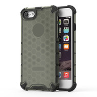 Honeycomb Transparent Case for iPhone 8 / 7 - Black