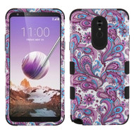 Military Grade Certified TUFF Hybrid Armor Case for LG Stylo 5 - Persian Paisley