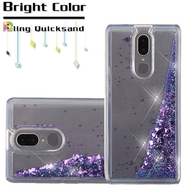 Quicksand Glitter Transparent Case for Coolpad Legacy - Purple