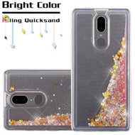 Quicksand Glitter Transparent Case for Coolpad Legacy - Pink