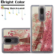 Quicksand Glitter Transparent Case for Coolpad Legacy - Eiffel Tower