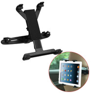 Backseat Headrest Mounting Holder for iPad and Tablets - Black