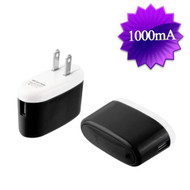 5W USB Wall Charger Power Adapter - Black