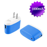 5W USB Wall Charger Power Adapter - Blue