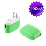 5W USB Wall Charger Power Adapter - Green