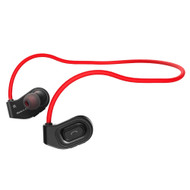Bluetooth V4.1 Wireless Sporty Headphones - Black Red