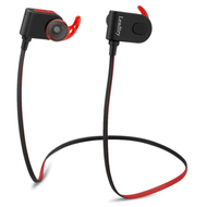 *Sale* Water Resistant Magnetic Absorbing Bluetooth V4.1 Wireless Stereo Sport Design Earphones - Black Red