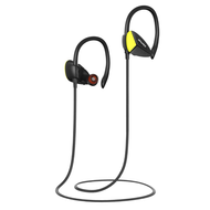 IPX4 Waterproof HD Stereo Bluetooth V4.1 Wireless Sport Earphones with Microphone - Black Yellow
