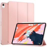 *FINAL SALE* Smart Hybrid Case with Auto Sleep/Wake Trifold Cover for iPad Pro 11 inch - Rose Gold