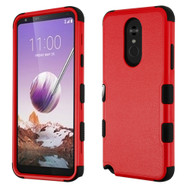 *Sale* Military Grade Certified TUFF Hybrid Armor Case for LG Stylo 5 - Red 256
