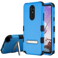 *Sale* Military Grade Certified TUFF Hybrid Armor Case with Stand for LG Stylo 5 - Blue