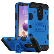 *Sale* Military Grade Certified Storm Tank Hybrid Armor Case with Stand for LG Stylo 5 - Blue