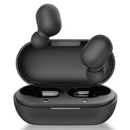 True Wireless Bluetooth V5.0 Touch Control Headsets with Portable Charging Case - Black