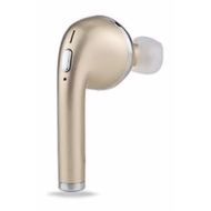 Bluetooth V4.1 Wireless In-Ear Headset for Right Ear - Gold