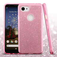 *Sale* Full Glitter Hybrid Protective Case for Google Pixel 3a - Pink