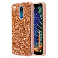 *Sale* Desire Mosaic Crystal Hybrid Case for LG K40 - Rose Gold