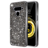 Desire Mosaic Crystal Hybrid Case for LG V50 ThinQ - Black