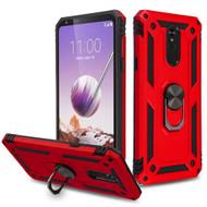 *Sale* Armor Ring Finger Loop Hybrid Case for LG Stylo 5 - Red