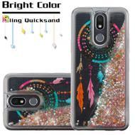 Quicksand Glitter Transparent Case for LG K40 - Dreamcatcher