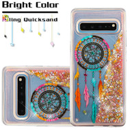 Quicksand Glitter Transparent Case for Samsung Galaxy S10 5G - Dreamcatcher