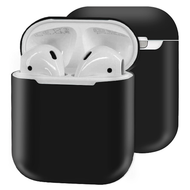 Ultra Thin Silicone Protective Case for Apple AirPods - Black