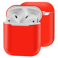 Ultra Thin Silicone Protective Case for Apple AirPods - Red