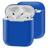 Ultra Thin Silicone Protective Case for Apple AirPods - Navy Blue
