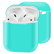 Ultra Thin Silicone Protective Case for Apple AirPods - Teal Green