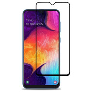Premium Full Coverage 2.5D Tempered Glass Screen Protector for Samsung Galaxy A50 - Black